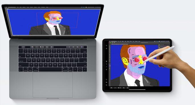 Apple iPadOS: macOS-Catalina (Screenshot: ZDNet.de)