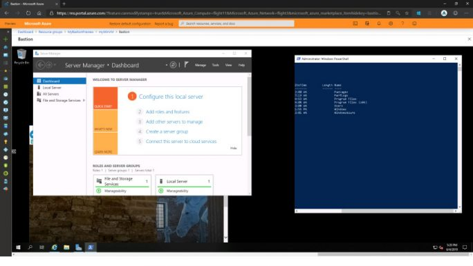 Azure Bastion (Bild: Microsoft)