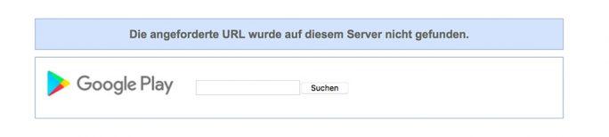 Apps von CooTek wurden aus den Google Play Store gelöscht (Screenshot: ZDNet.de)
