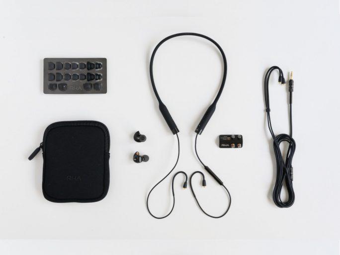 RHA T20 Wireless: Lieferumfang (Bild: RHA)