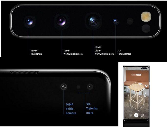 Samsung Galaxy S10 5G Tiefenkamera (Bild: Samsung)