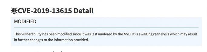 Angebliche VLC-Schwachstelle CVE-2019-13615 wird erneut untersucht (Screenshot: ZDNet.de)