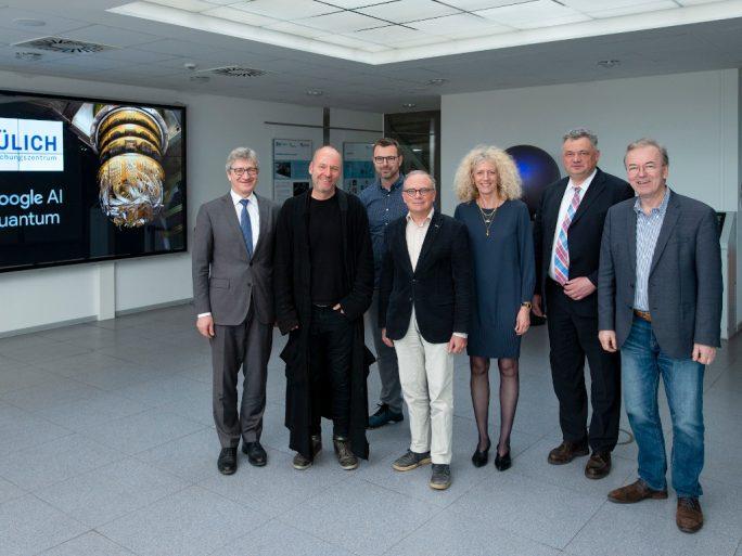 Quantencomputer: Google und Forschungszentrum-Jülich kooperieren (Bild: Forschungszentrum Jülich /Kurt Steinhausen)