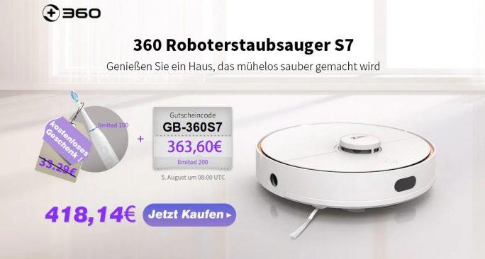 360 S7 bei Gearbest zum Einführungspreis (Bild: ZDNet.de)