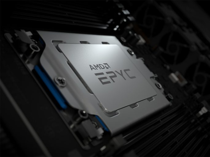 """AMD Epyc """"Rome"""" 2nd Generation (Bild: AMD)"""