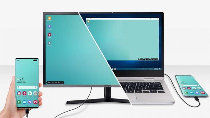 Galaxy S10: September-Update bringt DeX für PC (Bild: Samsung)