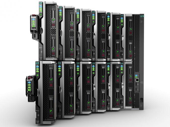 HPE Synergy gibt es in Verbindung mit GreenLake nun auch für Vmware-Kunden (Bild: HPE).