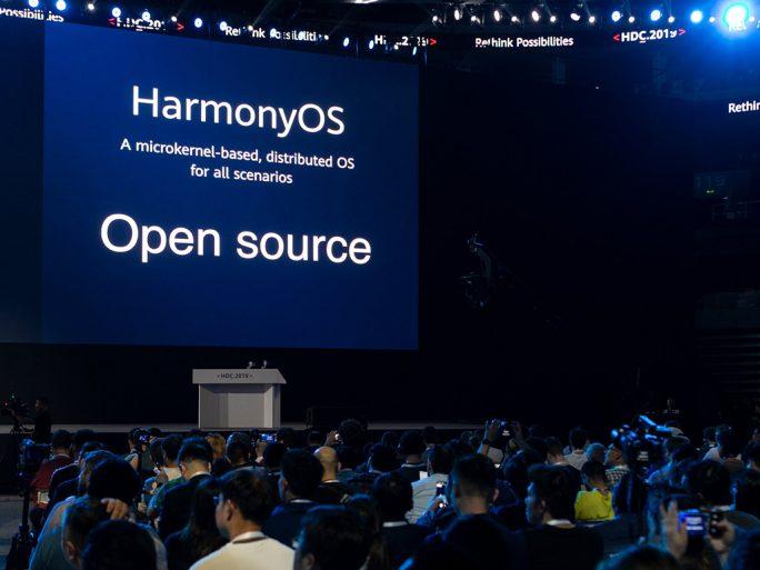 HarmonyOS basiert auf einem Microkernel und wird als Open Source veröffentlicht (Bild: Huawei)