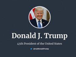 US-Präsident Trump (Screenshot: ZDNet.de)