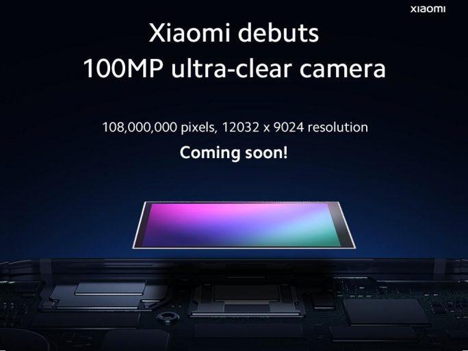 Xiaomi will Smartphone mit 108-Megapixel von Samsung vorstellen (Bild: Xiaomi)