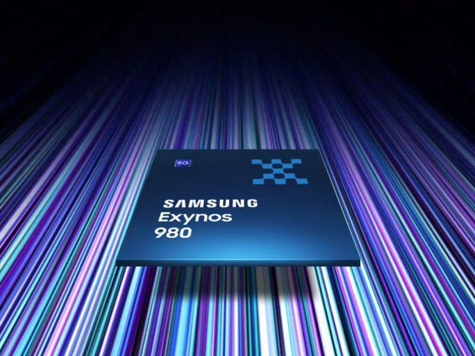 Exynos 980 mit integriertem 5G-Modem (Bild: Samsung)