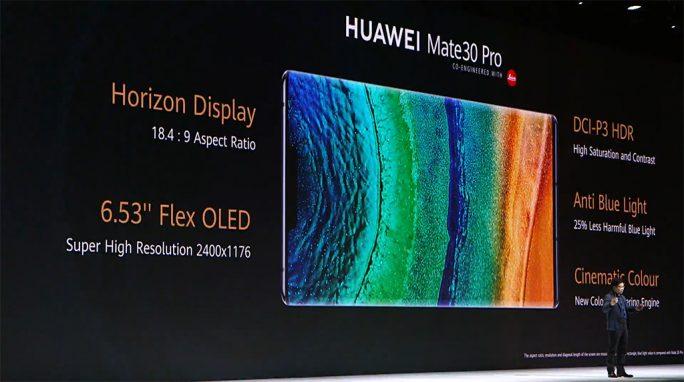 Huawei Mate 30 Pro: Features (Screenshot: ZDNet.de)