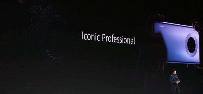 Huawei Mate 30 Pro: Kamera-Design (Screenshot: ZDNet.de)