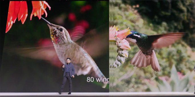 Huawei Mate 30 Pro: Superzeitlupe (Screenshot: ZDNet.de)