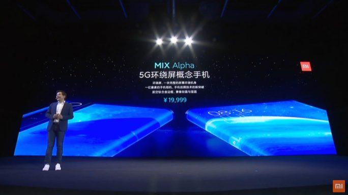 Mi MIX Alpha mit Rundum-Display (Screenshot: ZDNet.de)