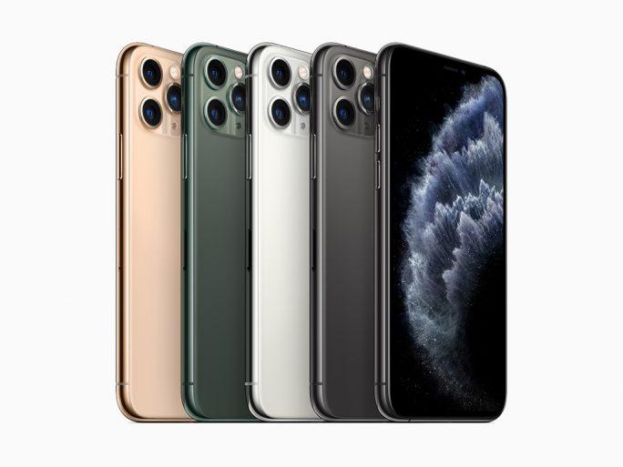 iPhone 11 Pro: Farben (Bild: Apple)
