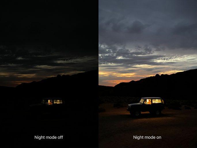 iPhone 11 Pro: Nachtmodus (Bild: Apple)