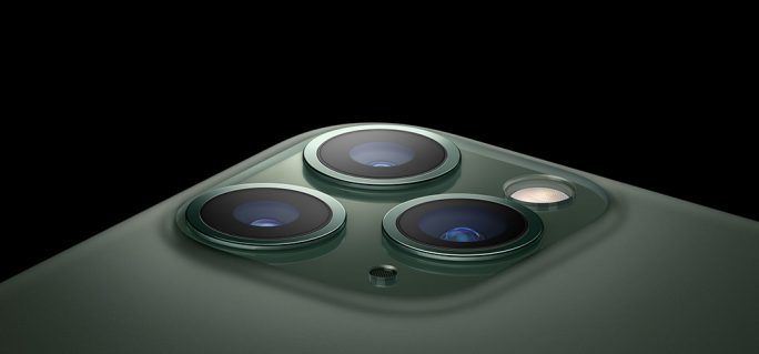 iPhone Pro: Triple-Kamera (Bild: Apple)
