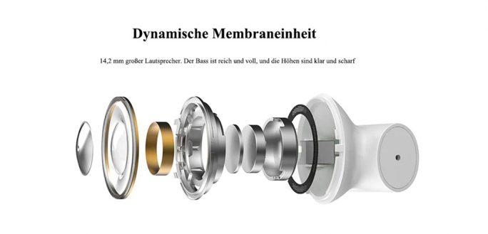 Mi Air 2: Dynamischer Lautsprecher (Screenshot: ZDNet.de)