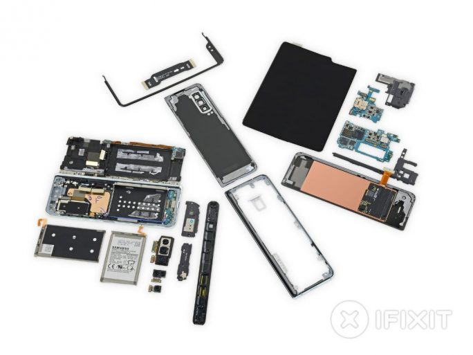 Samsung Galaxy Fold Teardown (Bild: iFixit)