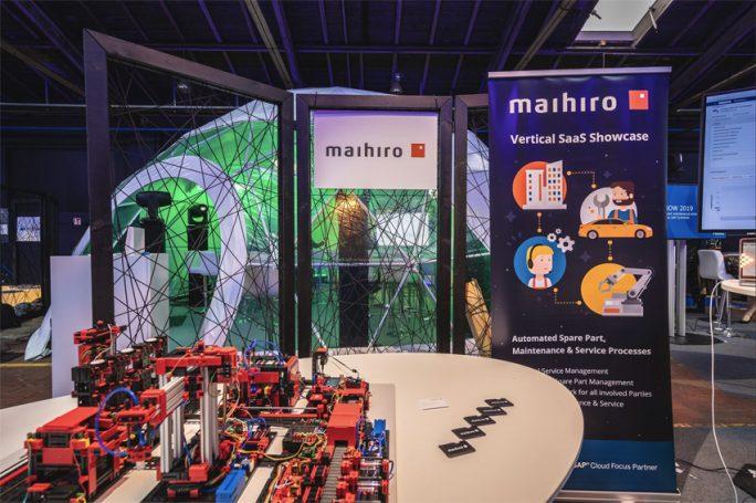 """Der interaktive Showcase """"maiService"""" von maihiro (Bild: maihiro)."""