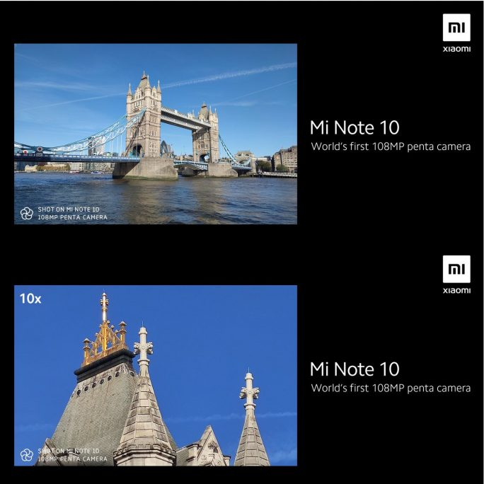 Mi Note 10: London (Bild: Xiaomi)
