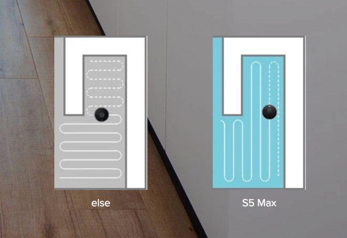 Roborock S5 Max: Wie beim S6 sollen verbesserte Algorithmen für eine optimale Reinigungsstrategie sorgen (Bild: Roborock)