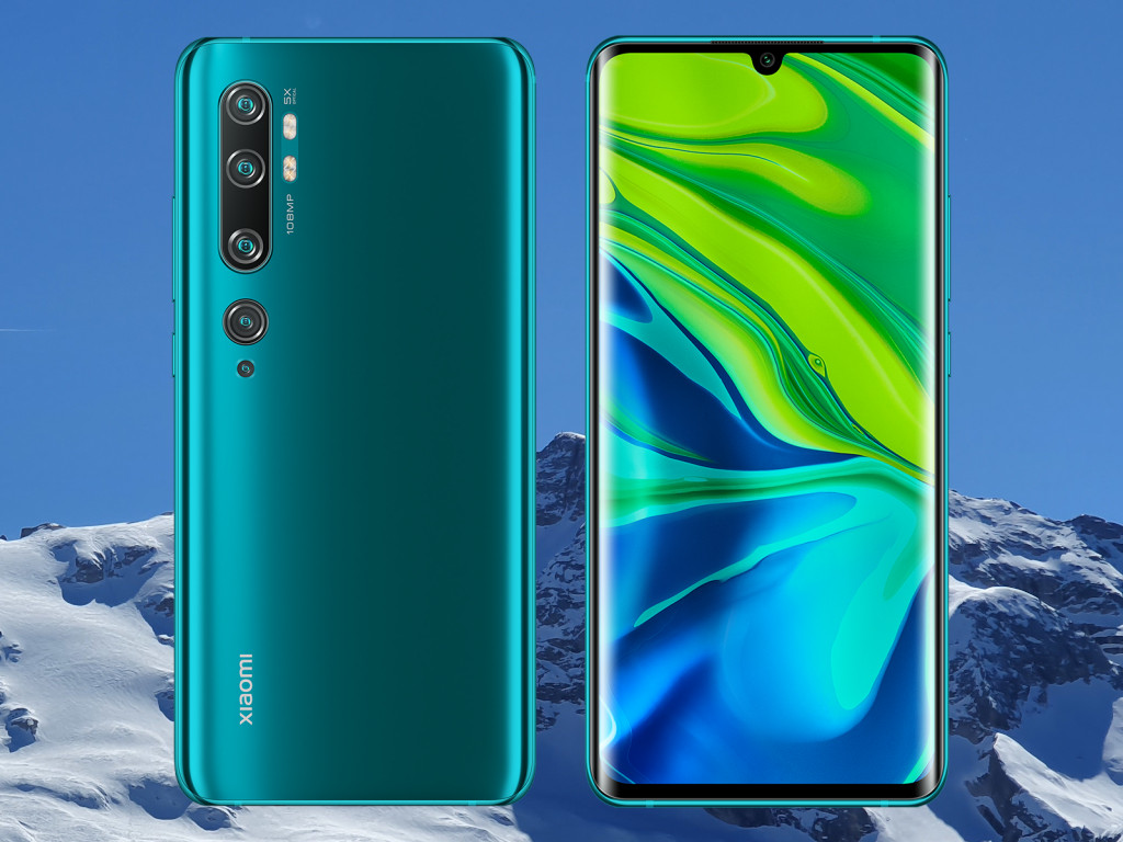 Xiaomi Mi Note 10 erhält Januar-Patches