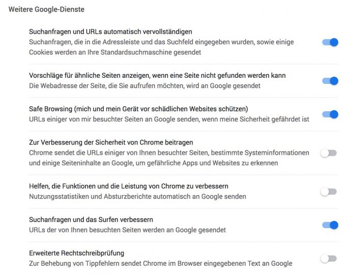 Chrome 79 mit Realtime-Überprüfung gefährlicher Webseiten (Screenshot: ZDNet.de)