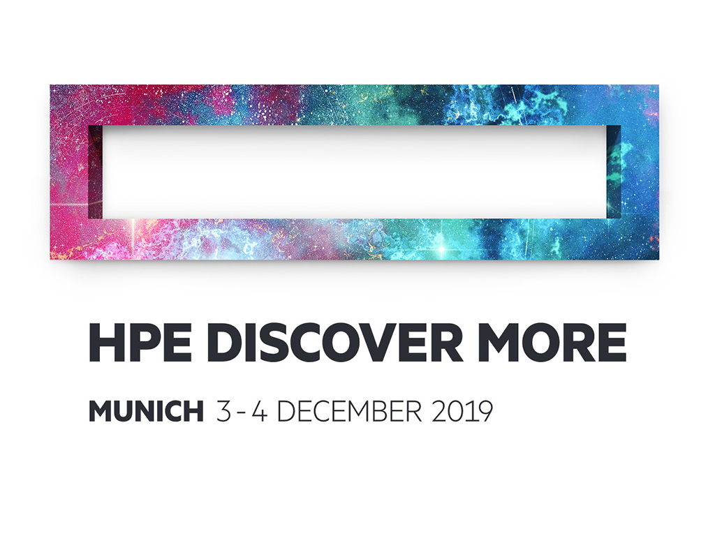 HPE Discover More 2019 in München