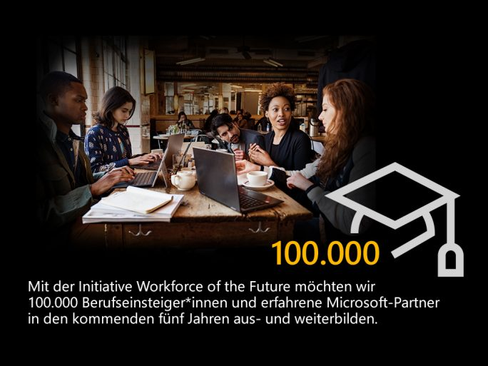 Cloud-Nutzung: Workforce of the Future (Bild: Microsoft)