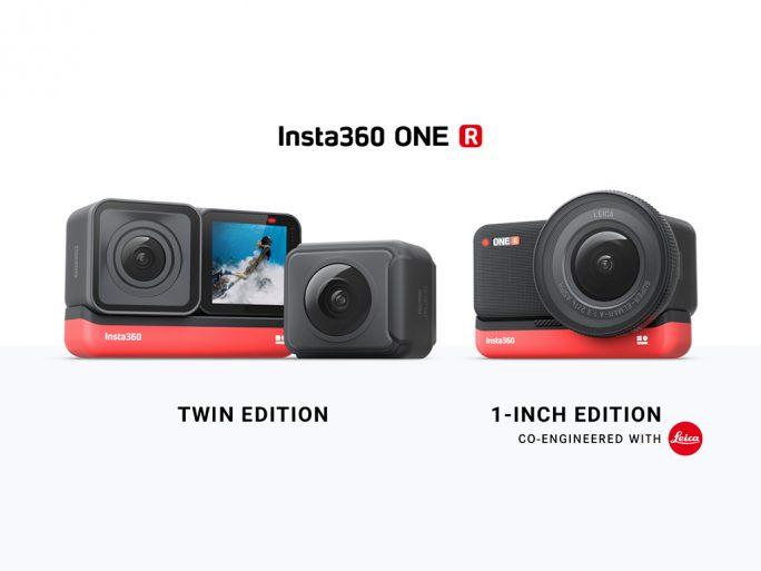 Insta360: ONE R Twin Edition und 1-Inch Edition (Bild: Insta360)
