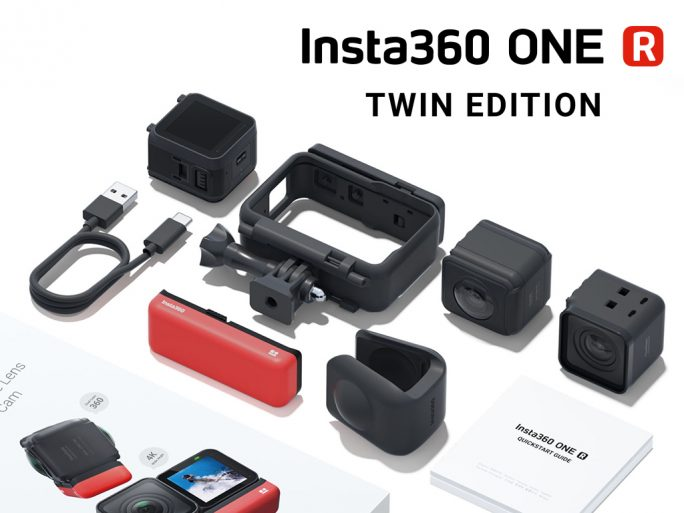 Insta360 ONE R Twin Edition (Bild: Insta360)