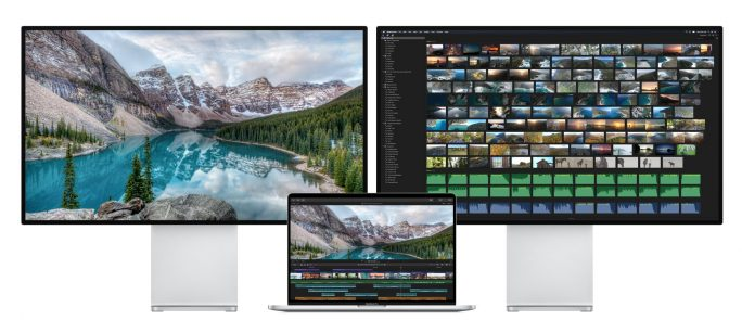 "MacBook Pro 16"": Zwei-6K-Displays (Bild: Apple)"