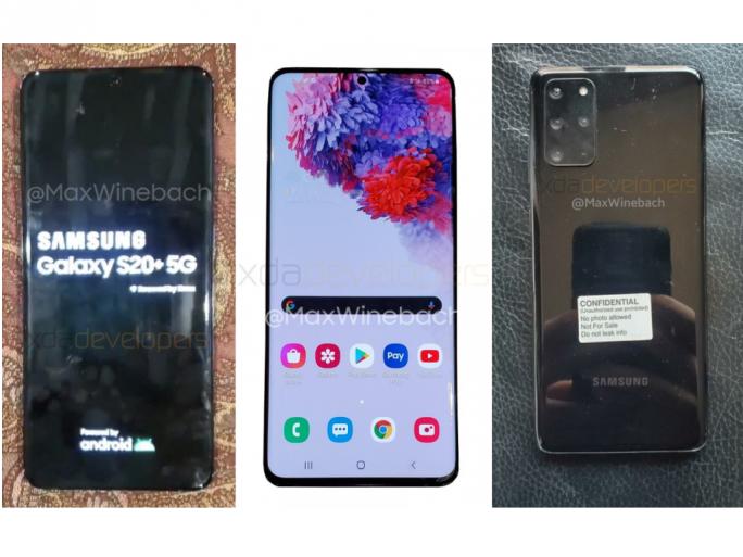 Samsung Galaxy S20 (Bild: Max Winebach/XDA Developers)