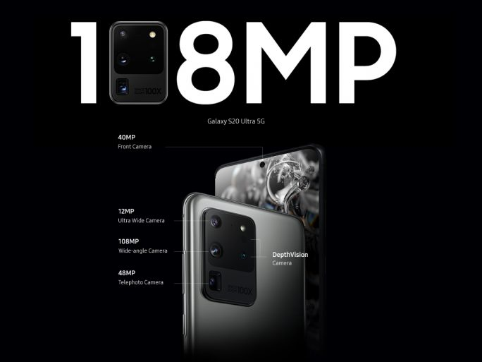 Galaxy S20 Ultra: 108-MP-Sensor (Bild: ZDNet.de, Evleaks)