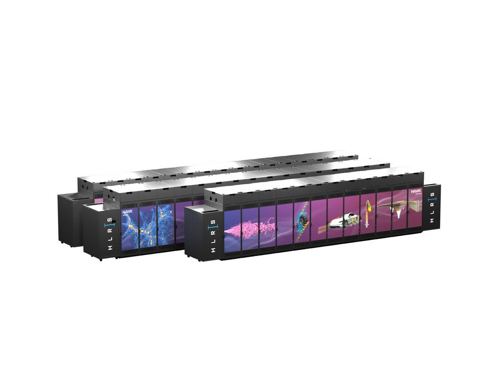 Supercomputer Hawk mit 11.260 AMD-Prozessoren geht in Betrieb