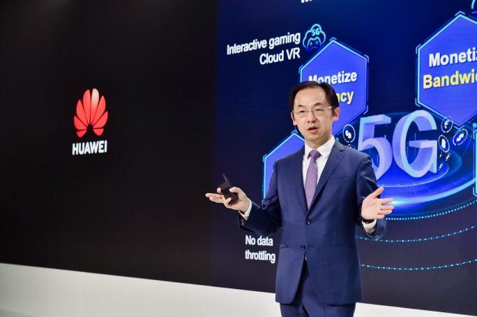 Huawei-Manager Ryan Ding (Bild: Huawei)