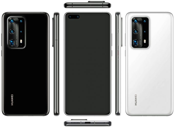 Huawei P40 Pro (Bild: Evan Blass, Twitter).