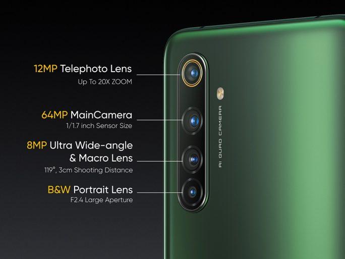 Realme X50 Pro 5G- Quad-Kamera (Bild: Realme)