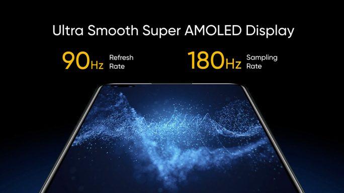 Realme X50 Pro 5G: Amoled-Display mit einer Aufösung von 2400 x 1080 Pixeln (Bild: Realme)