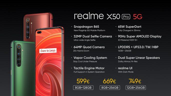 Realme X50 Pro 5G: Modelle (Bild: Realme)