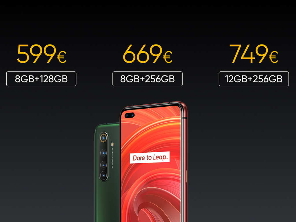 Realme X50 Pro 5G: 5G-Smartphone mit Snapdragon 865 für 599 Euro