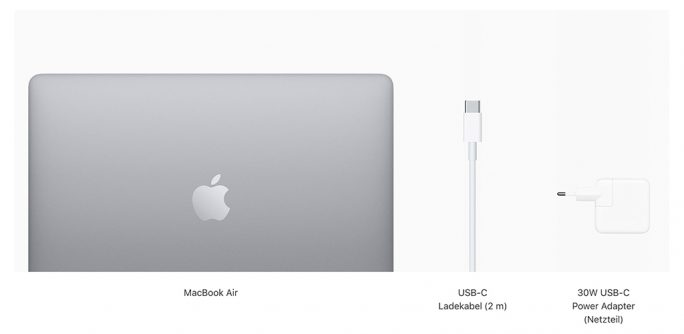 MacBook Air 2020 (Bild: Apple)