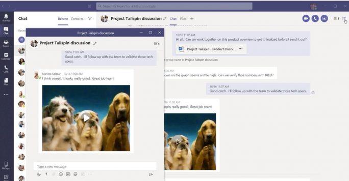 Microsoft Teams (Screenshot: Microsoft)