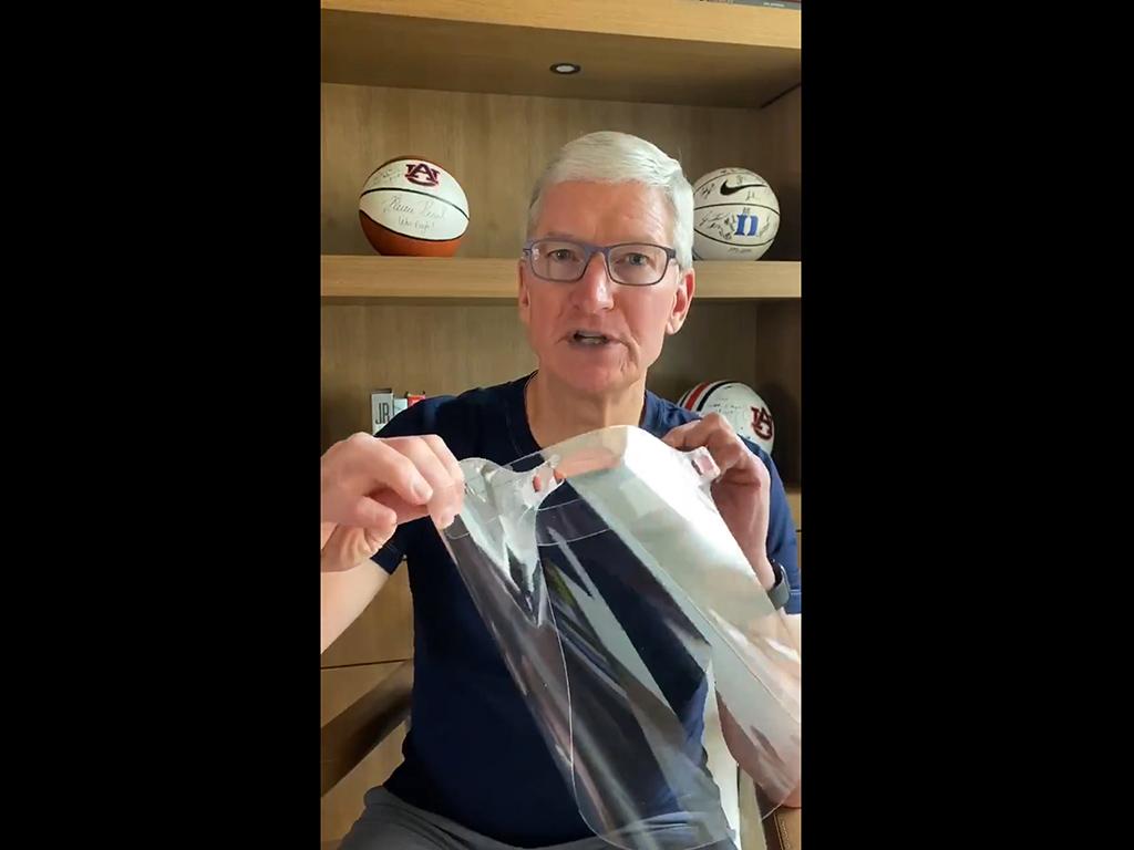 COVID-19: Apple produziert Schutzmasken für medizinisches Personal