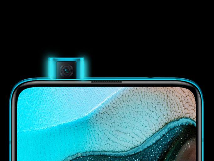 Poco F2 Pro: Dank einer herausfahrbaren Kamera stört keine Notch oder Punch Hole die Anzeige von Inhalten (Bild: Xiaomi)