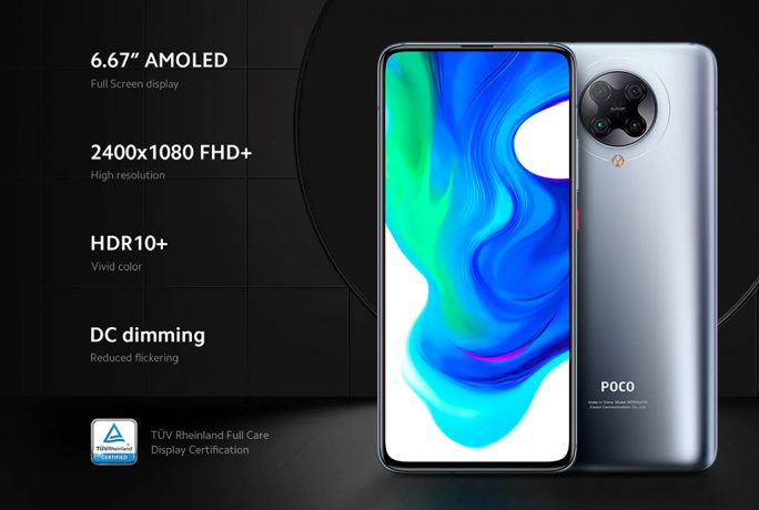 Poco F2 Pro: Display (Screenshot: ZDNet.de)