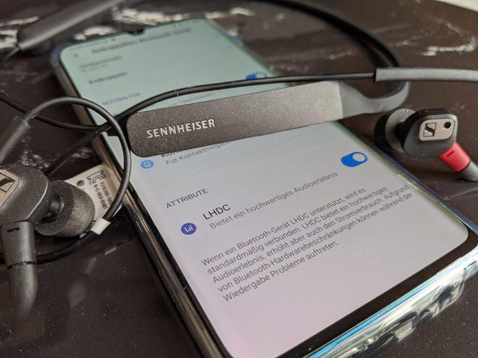 Sennheiser IE 80 S BT (Bild: ZDNet.de)