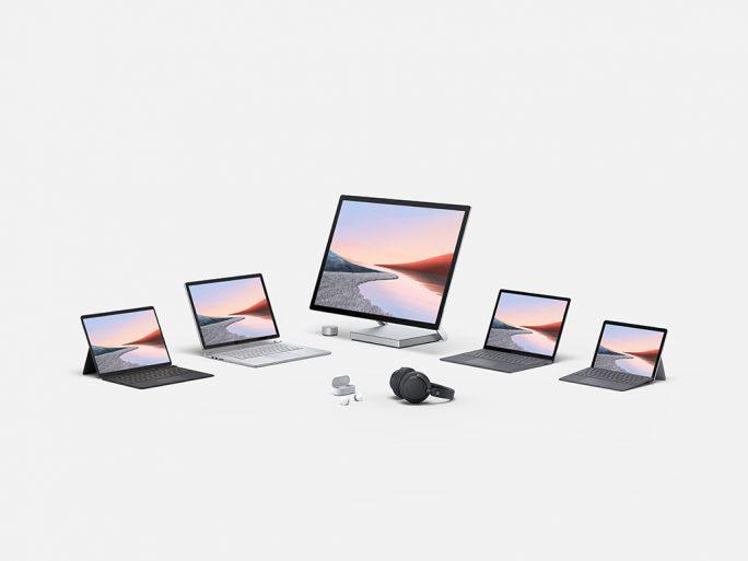 Surface-Familiy-2020 (Bild: Microsoft)